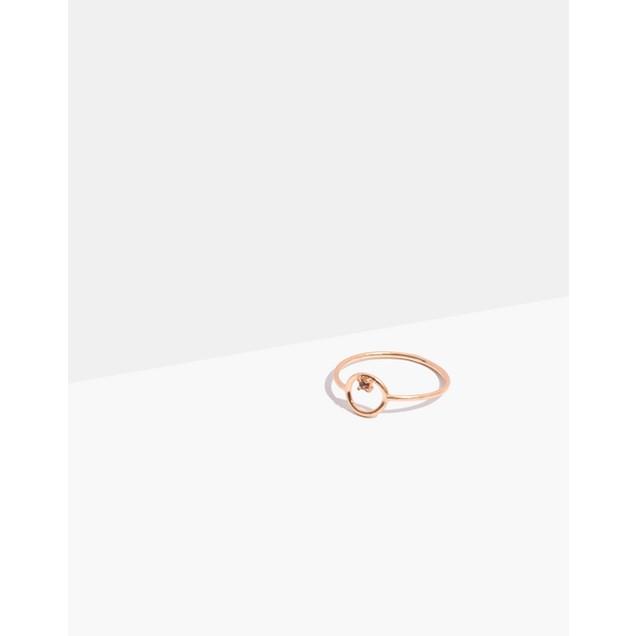 Madewell Circle Ring