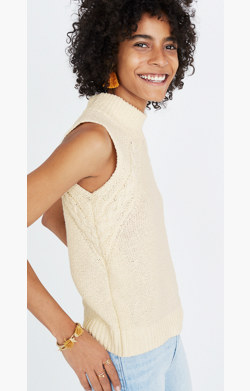 Stitch-Mix Mockneck Sweater Tank