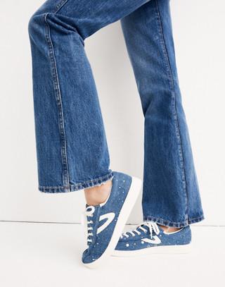 Tall Rigid Flare Jeans in delaford wash image 2