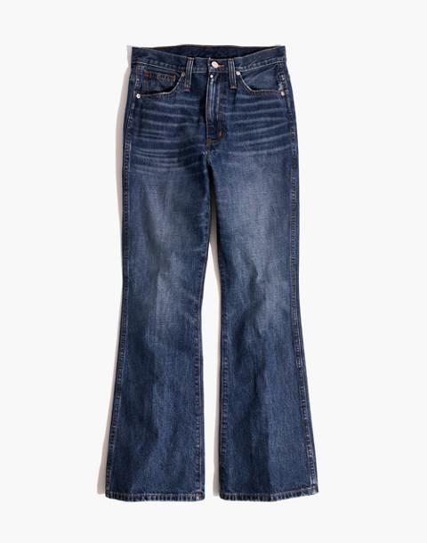 Rigid Flare Jeans in delaford wash image 4