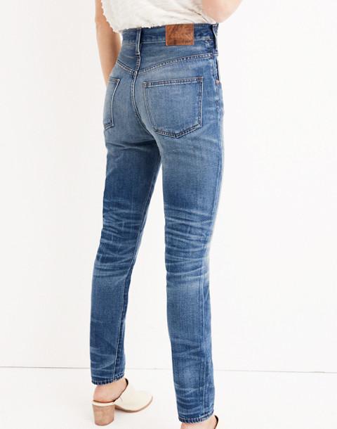 Rivet & Thread Rigid Skinny Jeans: Step-Waist Edition in martinez image 3
