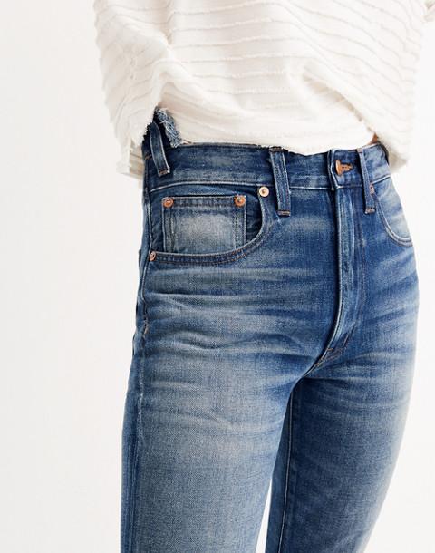 Rivet & Thread Rigid Skinny Jeans: Step-Waist Edition in martinez image 1