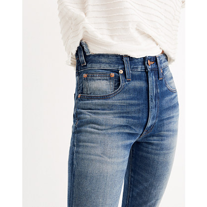Rivet & Thread Rigid Skinny Jeans: Step-Waist Edition