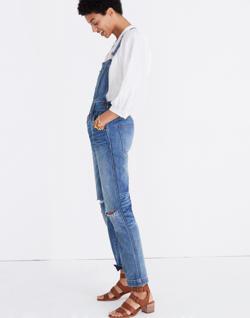 Straight-Leg Overalls in Bernard Wash