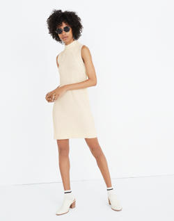Stitch-Mix Mockneck Sweater Dress