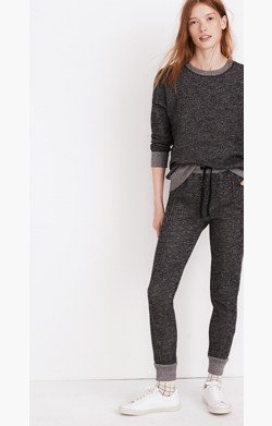 Pintuck Sweatpants