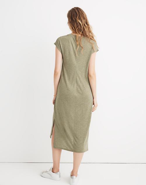 madewell muscle midi dress 2d3990