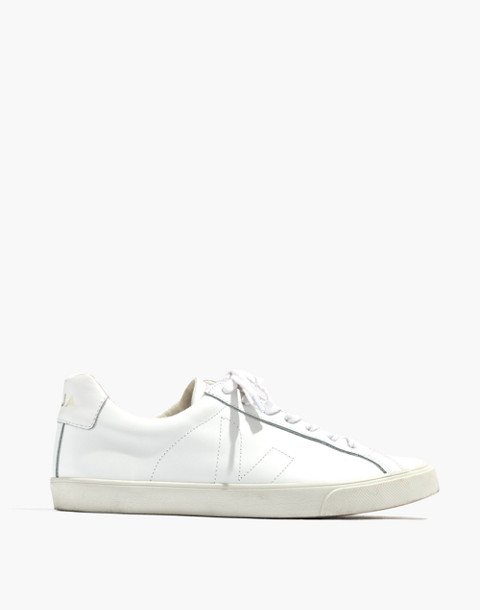 Madewell x Veja™ Esplar Low Sneakers in white gold image 3