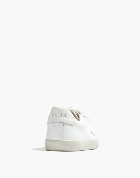 Madewell x Veja™ Esplar Low Sneakers in white gold image 4