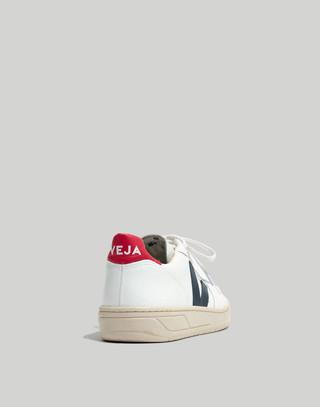Veja™ V-10 Sneakers in Colorblock in white navy red image 4
