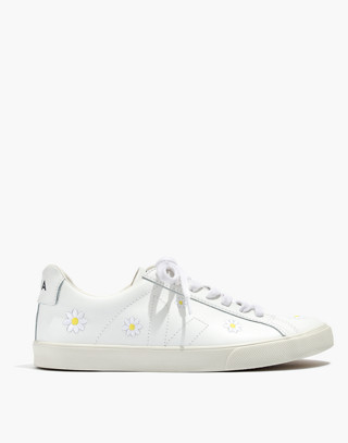 Madewell x Veja™ Esplar Low Sneakers in Embroidered Daisies
