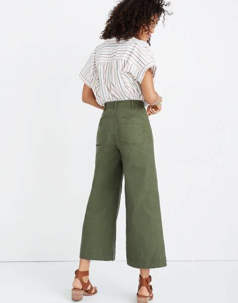 Emmett Wide-Leg Crop Pants