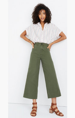 Emmett Wide-Leg Crop Pants