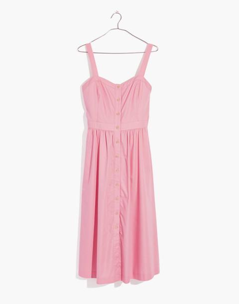 Pink Fleur Bow-Back Dress in petal pink image 4