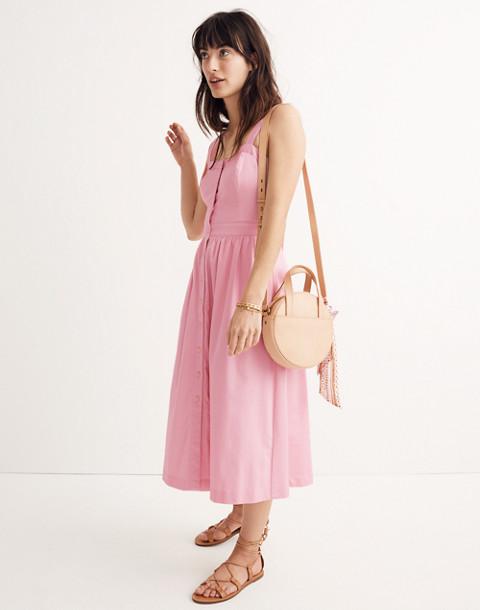 Pink Fleur Bow-Back Dress in petal pink image 1