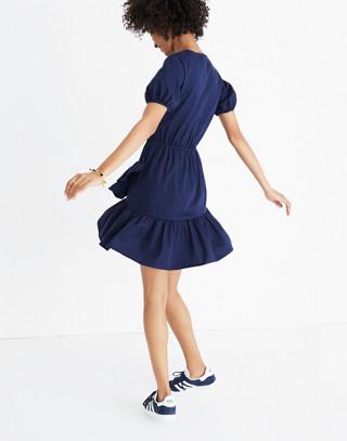 Ruffle-Wrap Dress