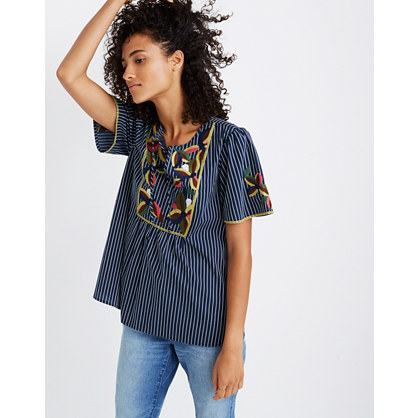 Embroidered Fable Top