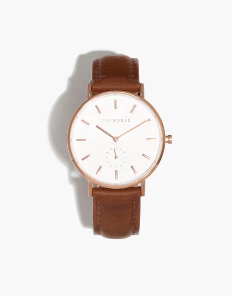 The Horse™ Classic Watch in tan image 1