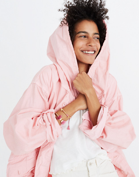 Madewell x As Ever™ Vintage Fishtail Parka in pink image 1