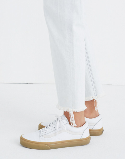 Madewell x Vans® Unisex Old Skool Lace-Up Sneakers in Tumbled Leather