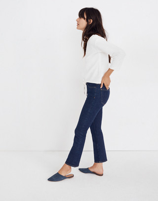 Textured Tie-Front Top in bright ivory image 2