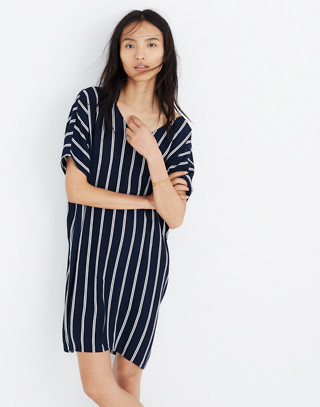 Striped Plaza Dress