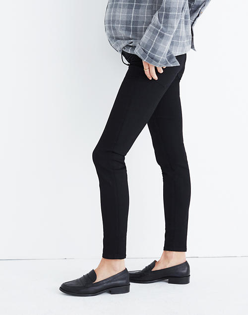 e6ea51824929f Maternity Skinny Jeans in Black Frost in null image 1