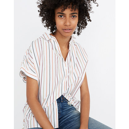 Central Shirt in Sadie Stripe