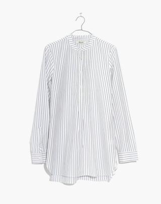 Wellspring Tunic Popover Shirt in Stripe