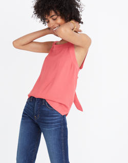 Apron Bow-Back Tank