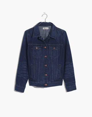 The Jean Jacket in Briarwood Wash