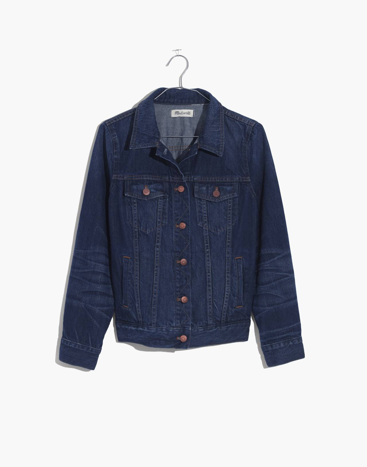 The Jean Jacket in Briarwood Wash in briarwood wash image 4