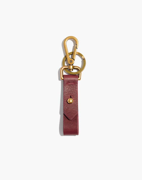 Front Door Key Fob in dark cabernet image 1