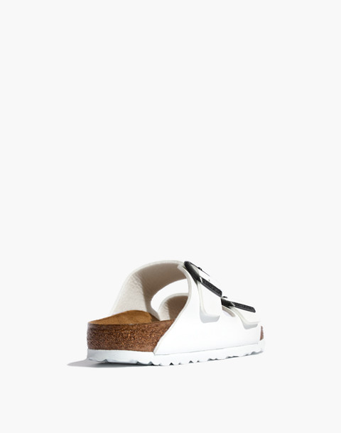 Birkenstock® Arizona Sandals in White Birko-Flor™