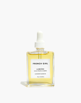 Madewell x French Girl™ Lumiere Body Oil in lavender image 1
