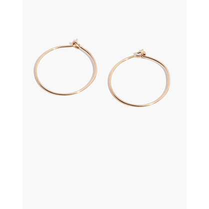 14k Gold-Filled Hoop Earrings