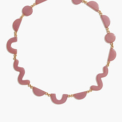 Shapes Statement Necklace