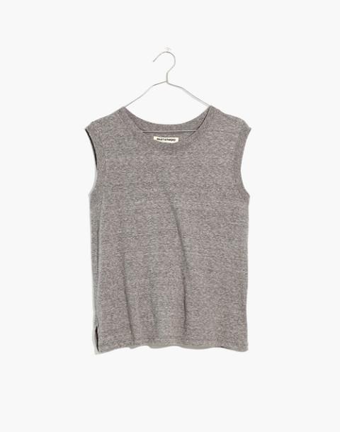 Ex-Boyfriend Muscle Tank Top in hthr grey image 4