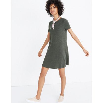 Ribbed Swingy Tee Dress