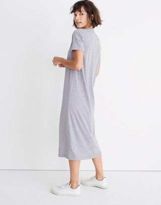 Rivet & Thread Tee Dress in hthr grey image 2