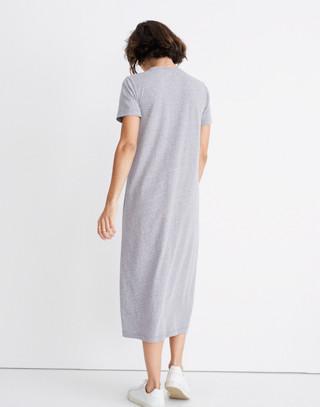Rivet & Thread Tee Dress in hthr grey image 3