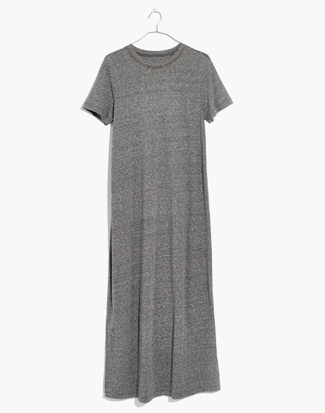 Rivet & Thread Tee Dress in hthr grey image 4