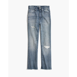 Tall Rigid Demi-Boot Crop Jeans