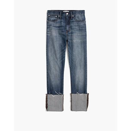 Rigid Straight Crop Jeans: Tall Cuff Edition