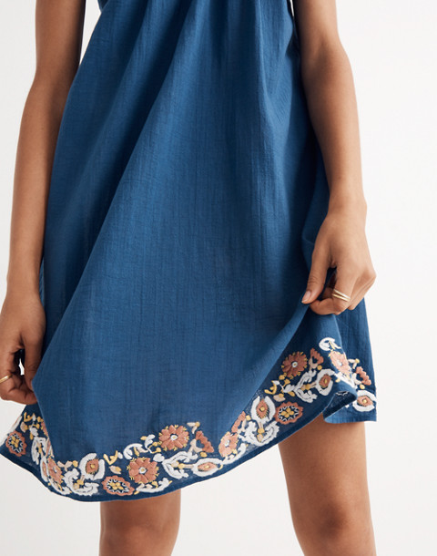 Embroidered Tulum Cover-Up Dress
