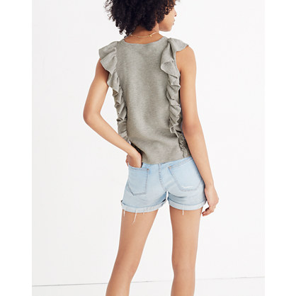 ruffled-sweater-tank by madewell