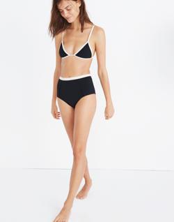 Tavik® Jett Color-Tipped Bikini Top