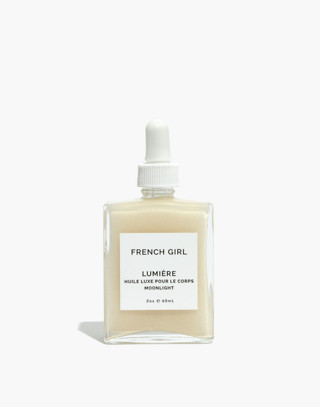 French Girl™ Lumiere Moonlight Body Oil in moonlight oil image 1