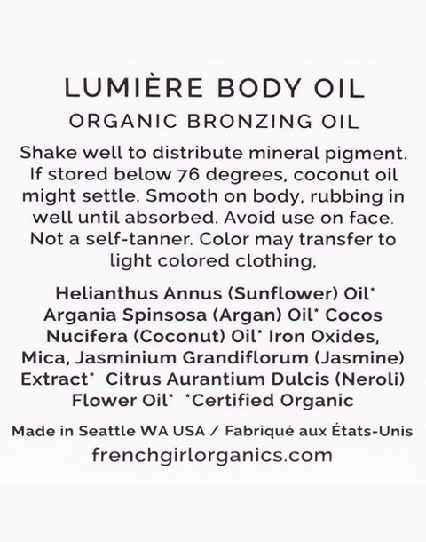 French Girl™ Lumiere Bronzing Body Oil