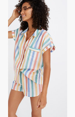 Bedtime Pajama Shirt in Stripe